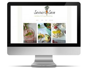 Recipe Website design, southern suburbs, Cape Town