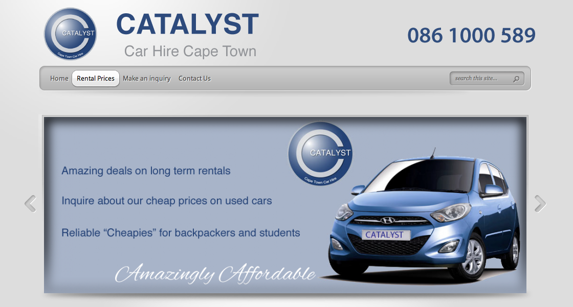 Catayst car Hire