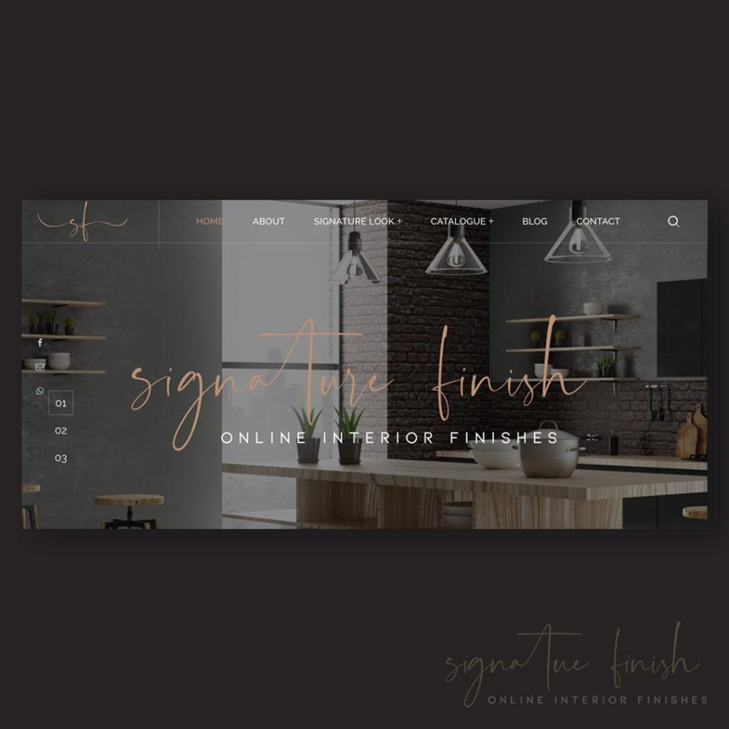 Interior Design Web Banner Inspiration