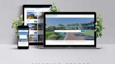 Amazing-Spaces-website-design