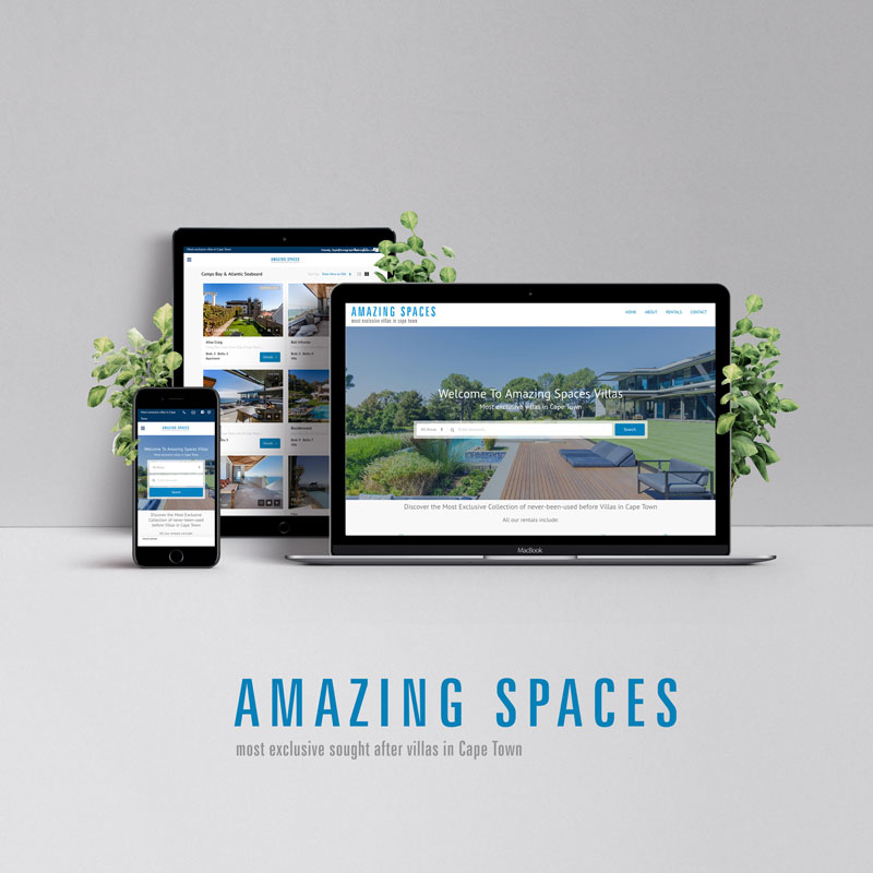 Amazing-Spaces-website-design